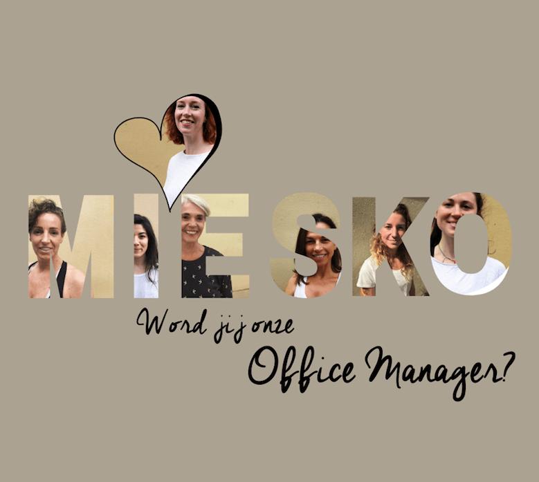 Nieuwe vacature: office Manager (12-24 uur per week)